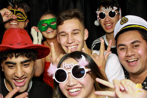 School formal and school ball photo booth