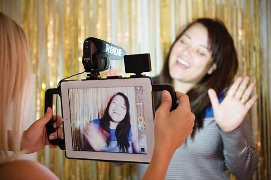 Social media production for photo booth hire