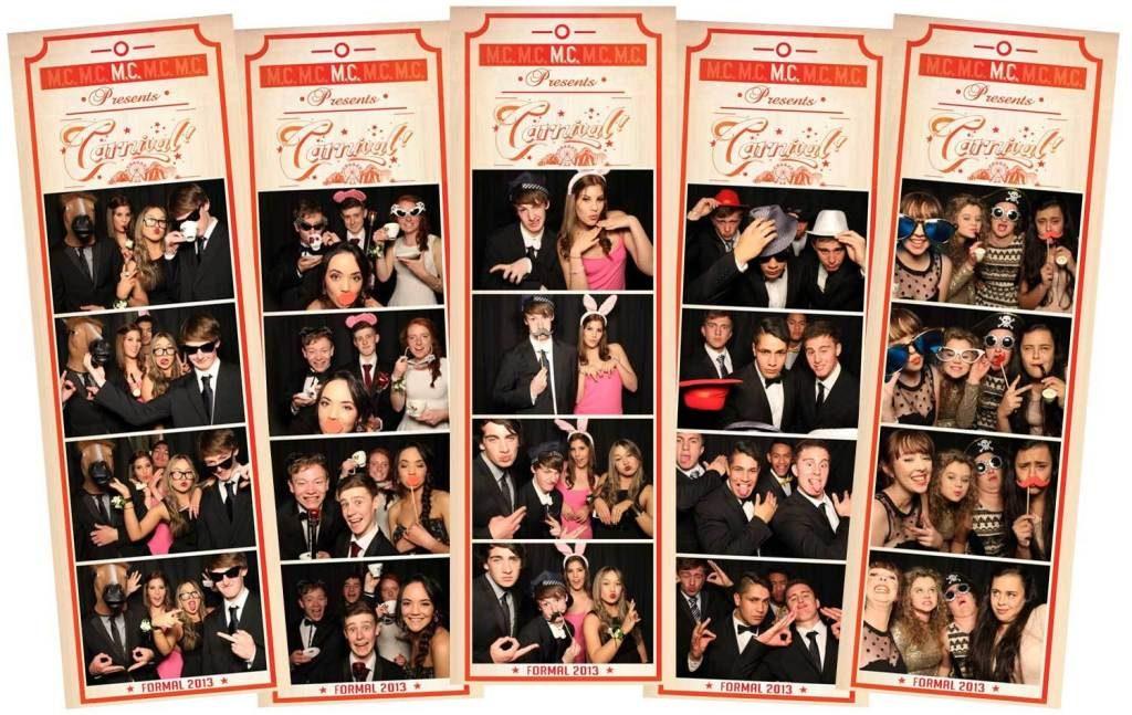 School formal ball photos