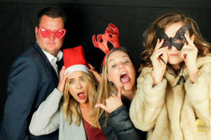 Photo Booth for a Christmas Party