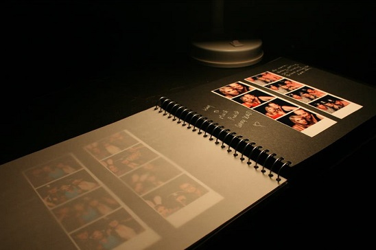 Handmade photo book album