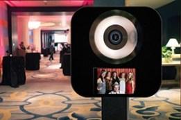 Mini photo booth