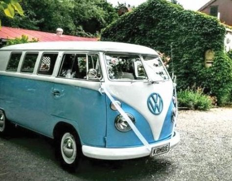 VW kombi photo booth